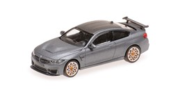 Bild von Minichamps 870027100 BMW M4 GTS - 2016 - MATT GREY W/ ORANGE WHEELS | Modellautos 1:87 Spur H0