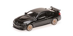 Bild von Minichamps 870027102 BMW M4 GTS - 2016 - BLACK W/ ORANGE WHEELS | Modellautos 1:87 Spur H0