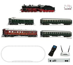 Picture of Roco 51313 z21® start Digitalset: Dampflokomotive BR 18.6 mit D-Zug DB | Startpackungen Spur H0 digital