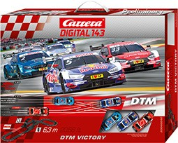 Bild von Carrera 40040 Digital 143 Set DTM Victory | Carrera Digital 143 Sets