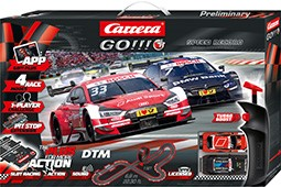 Bild von Carrera 66009 GO-PLUS Set DTM Speed Record | Carrera GO Plus Startsets