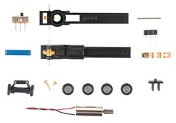 Picture of Faller 163710 N Car System Chassis-Kit N-Bus, N-LKW | Faller Car System Spur N