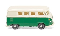 Picture of Wiking 093204 N VW T1 Bus - patinagrün/perlweiß | Modellautos 1:160 Spur N