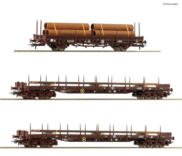Roco 76053 H0 3-teiliges Set: Stahlzug ÖBB Epoche 5