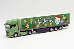 "Picture of Herpa 313209 H0 MAN TGX GX Koffer-Sattelzug ""1. Advent 2020"" 