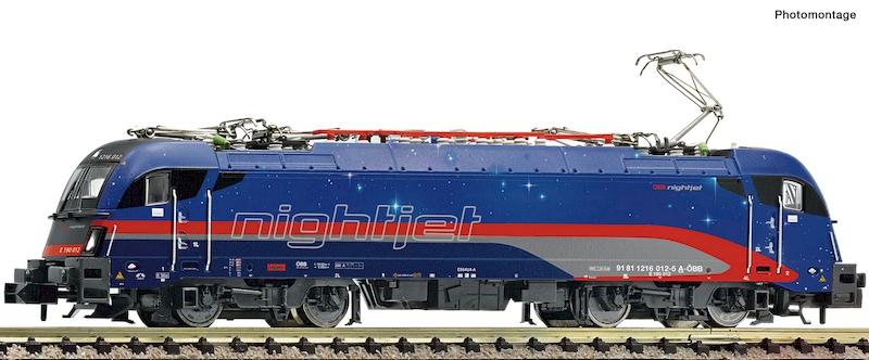 Fleischmann Nightjet BR 1216 012-5